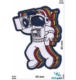 Nasa Funny Spaceman - Astronaut - Ghettoblaster