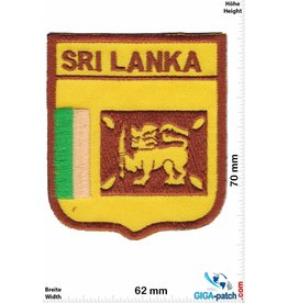 Sri Lanka Sri Lanka - Flag - Coat of Arms
