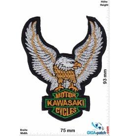 Kawasaki Kawasaki Motor Cycles - Eagle Adler - silver