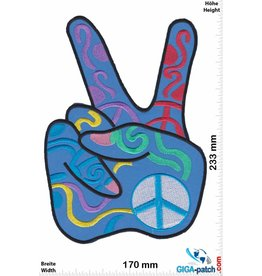 Peace Peace - Frieden - 23 cm - BIG