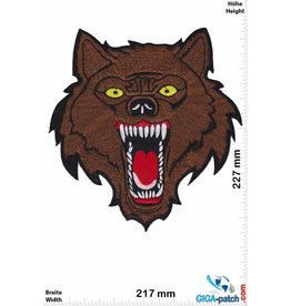 Wolf Lone Wolf - brown - 23 cm - BIG