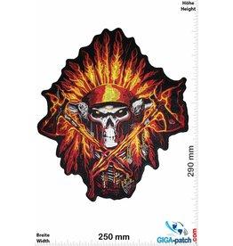 Indian Skull Indian Chief - 29 cm - BIG