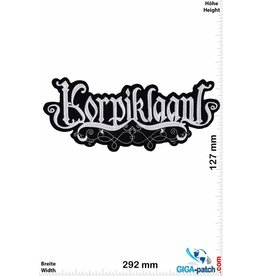 Korpiklaani  Korpiklaani - Folk-Metal-Band - 29cm - BIG