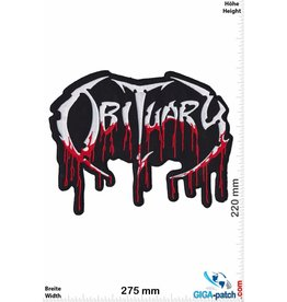 Obituary Obituary - Death-Metal-Band - 27cm - BIG