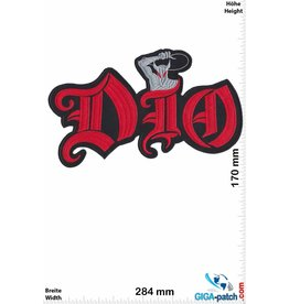 Dio DIO - Heavy-Metal-Band - 28cm - BIG