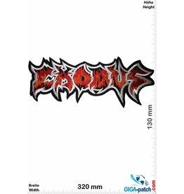 Exodous Exodous - Thrash-Metal-Band - 32 cm - BIG