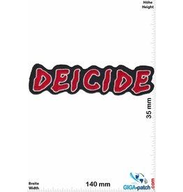 Deicide Deicide - Death-Metal-Band  - red