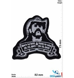 Motörhead Motörhead - Lemmy - Born to Lose, Live to Win -1945-2015