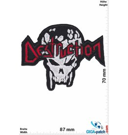 Destruction Destruction - Thrash-Metal-Band - Skull