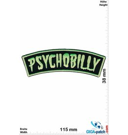 Psychobilly  Psychobilly - neon green