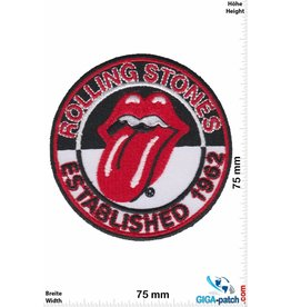 Rolling Stones Rolling Stones - Established 1962 - black white
