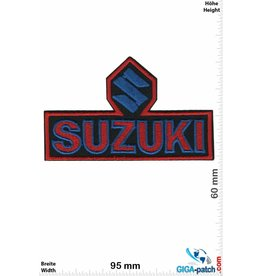 Suzuki Suzuki - red blue black