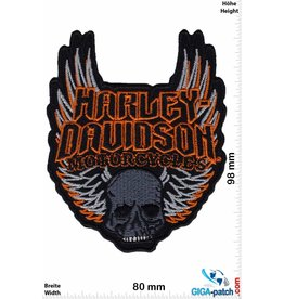 Harley Davidson Harley Davidson Motorcycles - skull wings