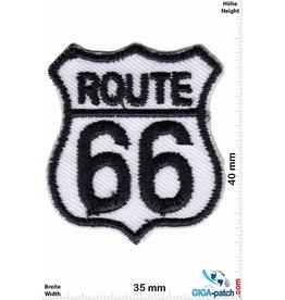 Route 66 ROUTE 66  - small - black white - 2er  Set !