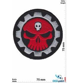 Totenkopf Red Skull