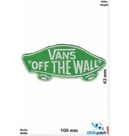"""Vans """"Vans """"""""OFF THE WALL"""""""" - green"""