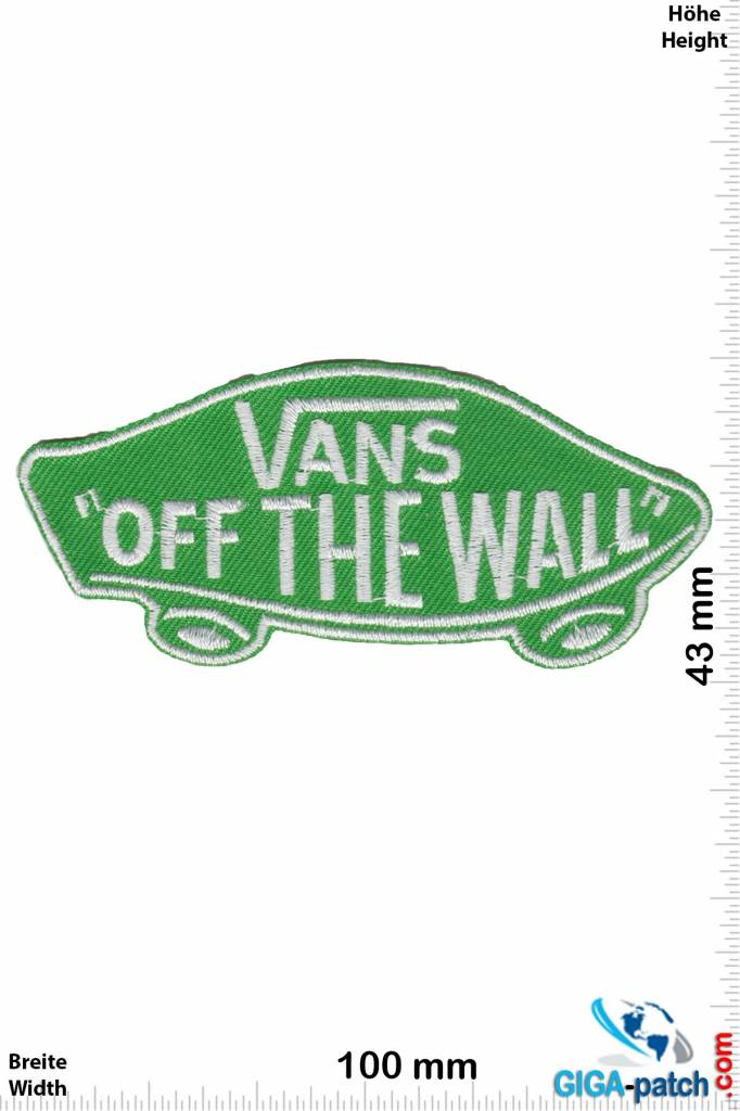 patch vans off the wall
