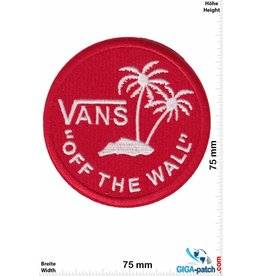 "Vans ""Vans """"OFF THE WALL"""" - round - red - HQ"