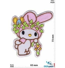 Hase Cute Rabbit - Flower