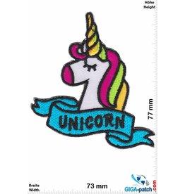 Unicorn Unicorn - Einhorn - blue