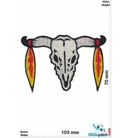 Indianer Bison Skull Indian