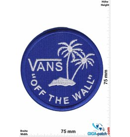 "Vans ""Vans """"OFF THE WALL"""" - round - blue - HQ"