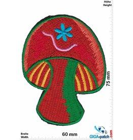 Magic Mushroom Pilze - Magic Mushroom - orange