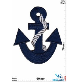 Navy Marine - Anchor  - blue