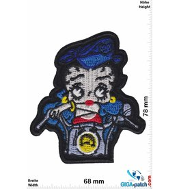 Betty Boop Betty Boop - Motorbike - Blue