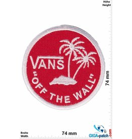 "Vans ""Vans """"OFF THE WALL"""" - round - red white - HQ"