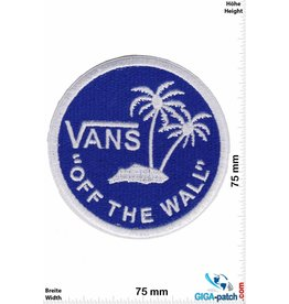 "Vans ""Vans """"OFF THE WALL"""" - round - blue white - HQ"