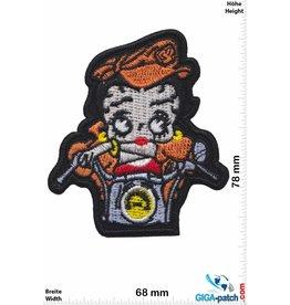 Betty Boop Betty Boop - Motorbike - orange