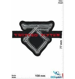 Twisted Sister  Twisted Sister -   TS - silver red - Copy