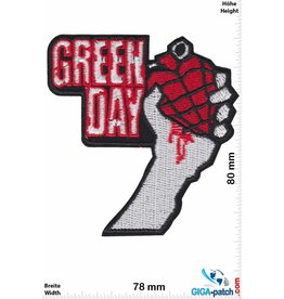 Green Day Green Day - American Idiot - red