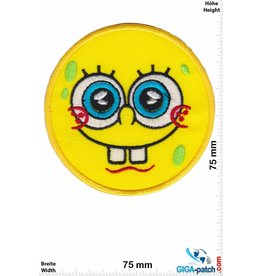 SpongeBob SpongeBob Schwammkopf - smile - round