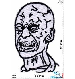 Zombie Zombie - white head