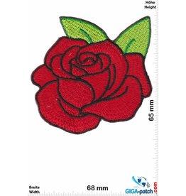 Oldschool Red Rose