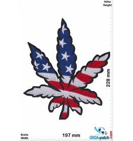 Cannabis - USA - Marihuana - Hanf - Gras - Dope  - BIG - 22 cm