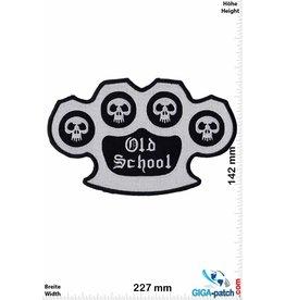 Old School Old School - brass knuckles  - 27 cm - BIG