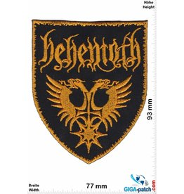 Behemoth Behemoth - Death Metal - gold - Schild