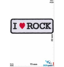 Rock n Roll i LOVE Rock - Herz
