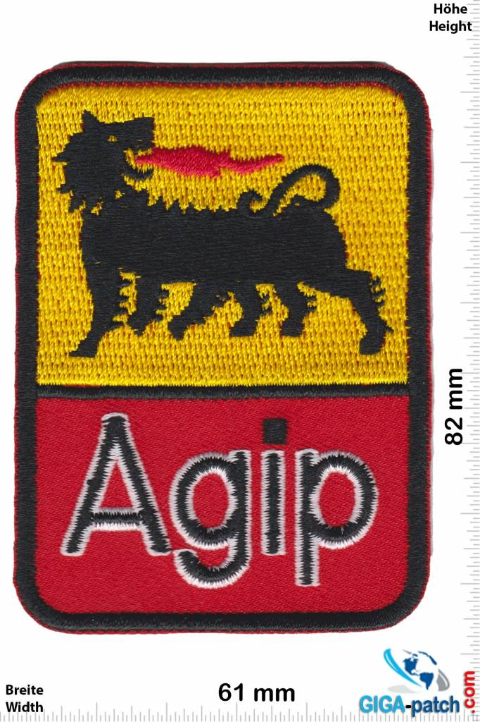 Agip Agip - gold red