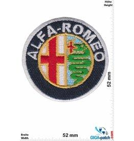Alfa Alfa Romeo - rund - small