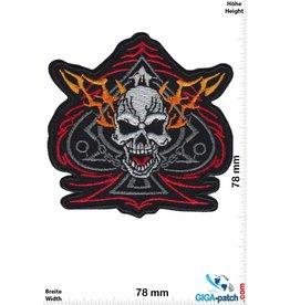 Totenkopf Pik Ass - Skull