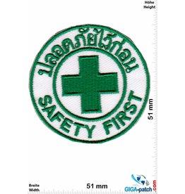 Emergency Emergency - Safety First - Thai - green