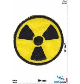 Radiacative Radioactive - Radioaktiv - small - 2 Stück