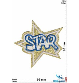 Star Star - gold