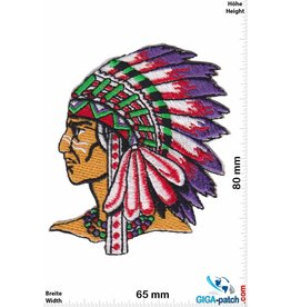 Indianer Indians - Chief  - left -  small