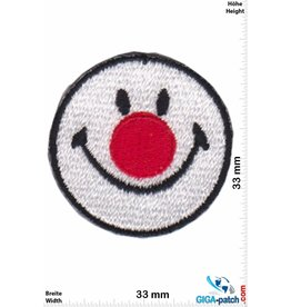 Smiley Smiley - Smile - Clown - small -  2 Piece