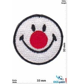 Smiley Smiley - Smile - Clown - small - 2 Stück